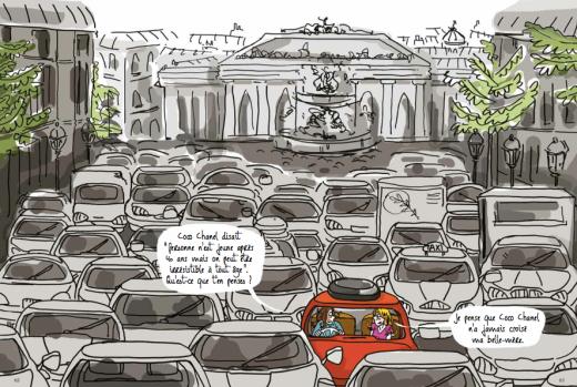 double embouteillages-40 ans c'est pas vieux-coco chanel